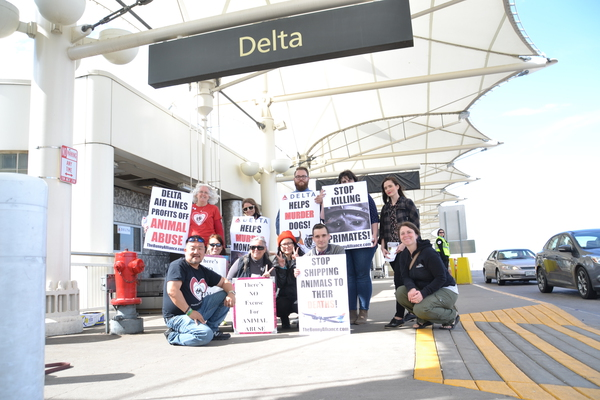 RMADA Protests Delta during World Week. Click to enlarge.